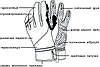Рукавиці лижні PowerPlay 6942 Чорні S (Універсальні зимові), фото 4