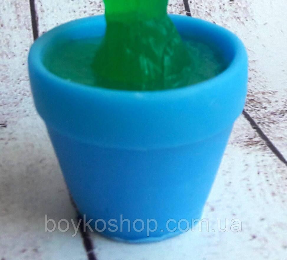 Форма для мыла Горшок цветочный 3Д