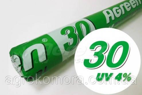 Агроволокно Agreen 30 г/м2 біле 15.8х100