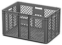 Пластиковый ящик 600 х 400 х 320 Перфорированная