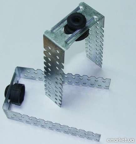 Универсальное звукоизоляционное крепление Виброфикс протектор