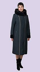 Женское зимнее пальто с капюшоном модное интерет магазин