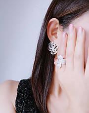 Асимметричные серьги джекеты фламенко, фото 3