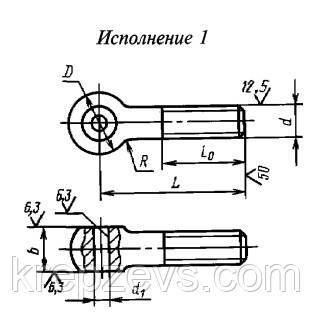 """Болт ГОСТ 3033-76 купить - завод """"Зевс"""""""