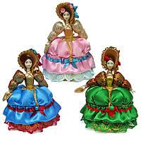 Кукла шкатулка фарфоровая Барышня
