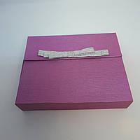 Картонная коробочка для ювелирных украшений под набор