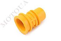 Патрубок воздушного фильтра Honda DIO AF18/27 (желтый) KOMATCU