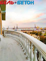 Балюстрада белая в Черноморске | Балясины бетонные в Одесской области 7