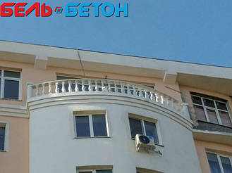 Балюстрада белая в Черноморске | Балясины бетонные в Одесской области 3