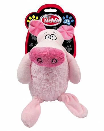"""Игрушка для собак """"Свинка"""" 35см"""