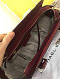 Сумка Майкл Корс Michael Kors Selma 28 см, натуральная кожа, цвет марсала, фото 7
