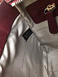 Сумка Майкл Корс Michael Kors Selma 28 см, натуральная кожа, цвет марсала, фото 3