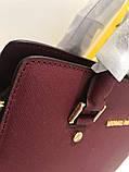 Сумка Майкл Корс Michael Kors Selma 28 см, натуральная кожа, цвет марсала, фото 8