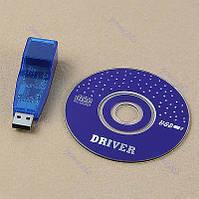 USB сетевая карта RJ45 - 10/100 мбит.