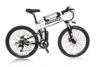 Электровелосипед Hummer electrobike foldable Белый 350, КОД: 213580