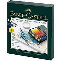Акварельные цветные карандаши Faber Castell ALBRECHT DURER 117538 в подарочной коробке (36 цв.)