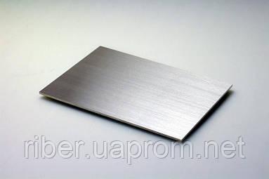 Лист н/ж 5мм 1000х2000мм AISI 316Ti/2В