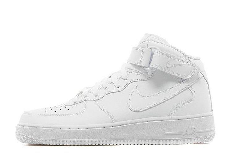 c775d331 Женские кроссовки Nike Air Force High All White W размер 36, КОД: 233676