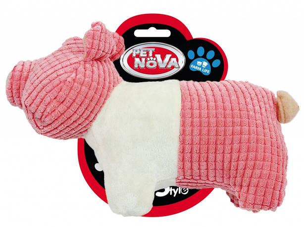 """Игрушка для собак """"Маленькая свинка"""" 22см"""