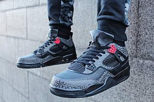 """Кроссовки мужские Air Jordan 3Lab4 """"Black Infrared 23"""" / 499086-879 (Реплика)"""