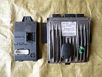 ЭБУ (комплект) (1,5 V dci 8V) Renault Symbol 08- (Рено Симбол), 8200911568