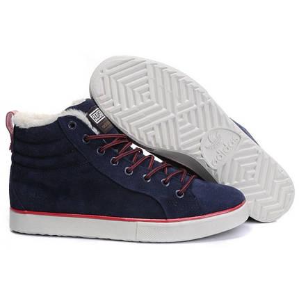 "Зимние кроссовки на меху Adidas Ransom Valley ""Синие"", фото 2"