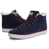 "Зимние кроссовки на меху Adidas Ransom Valley ""Синие"", фото 3"