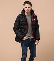 Куртка подростковая зимняя Braggart Youth черного цвета топ реплика