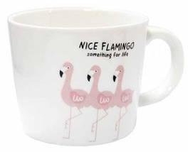 Чашка керамическая Розовый фламинго 200 мл, фото 2