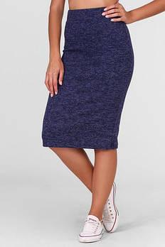 Женская юбка Rich из ангоры размер 42-44, 46-48 цвет темно синий