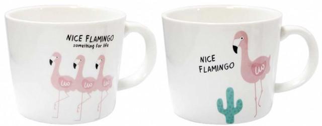 Чашка керамическая Прекрасный фламинго 200 мл