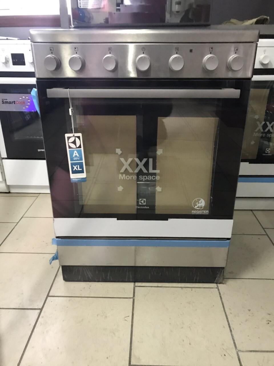 Плита электрическая ELECTROLUX EKC 6150 AOX