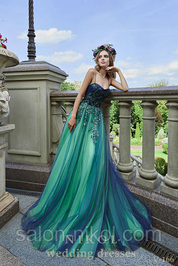 Вечернее, выпускное платье V-166