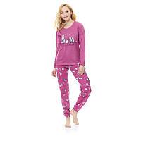 Пижама из трикотажа Dobranocka 9506