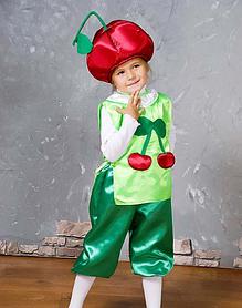 """Детский карнавальный костюм """"Вишенка"""""""
