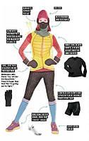 Спортивная экипировка для зимней пробежки.