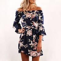 Женское платье цветочек, фото 1