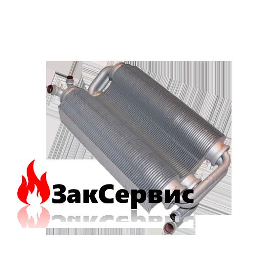 Теплообменник битермический на газовый котел Ferroli Domitech C/F 24, Easytech C/F 2439828990 37404711