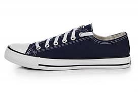 Мужские кеды Converse Chuck Taylor All Star Low Blue размер 44, КОД: 240545