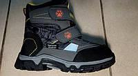 Зимние термо ботинки для мальчиков, размеры 32-38