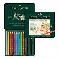 Акварельные цветные карандаши Faber Castell ALBRECHT DURER MAGNUS 116912 в деревянной коробке (12 цв.)