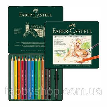 Акварельні кольорові олівці Faber Castell ALBRECHT DURER MAGNUS 116912 в дерев'яній коробці (12 цв.)