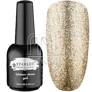 Гель-лак Starlet Professional Glitter Shine Gel №03, 10 мл жидкий бриллиант бронза