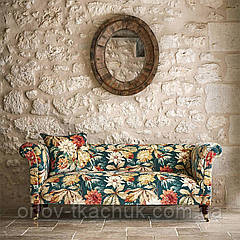 Ткань интерьерная бархат Dahlia & Rosehip Elysian Sanderson