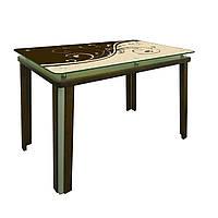 Обеденный стол  Гелиос на деревянных опорах