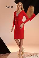 Красное платье женское от Леся Украинка Арпина, фото 1