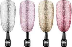 Гель-лаки Starlet Professional Glitter Shine Gel