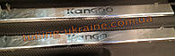 Хром накладки на пороги для Renault Kangoo 2008-2016