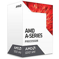 Процессор AMD (AM4) A10-9700, Box, 4x3,5 GHz (Turbo Boost 3,8 GHz), Radeon R7 (900 MHz), L2 2Mb, Bristol Ridge