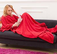 Плед флисовый Снагги Бланкет (красный), фото 1